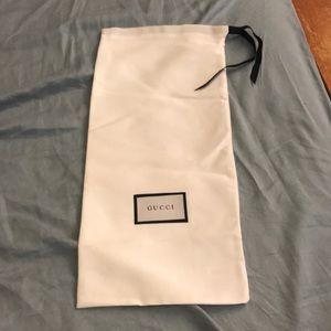 Gucci Silk cover dust bag storage